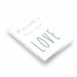 Bloc note All we need is love
