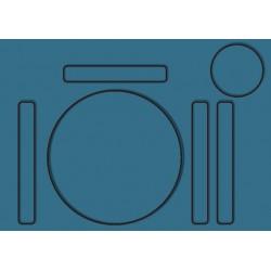 Set de table minimaliste